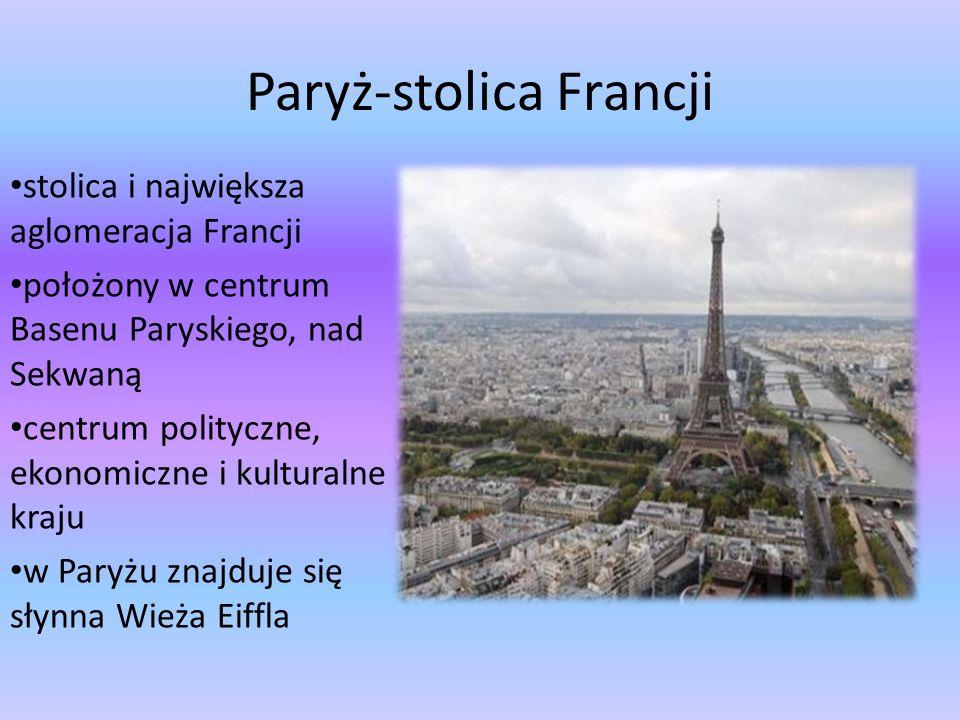 Paryż-stolica Francji