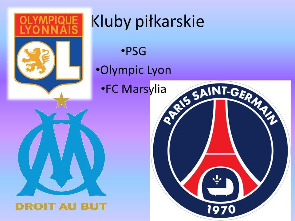 PSG Olympic Lyon FC Marsylia