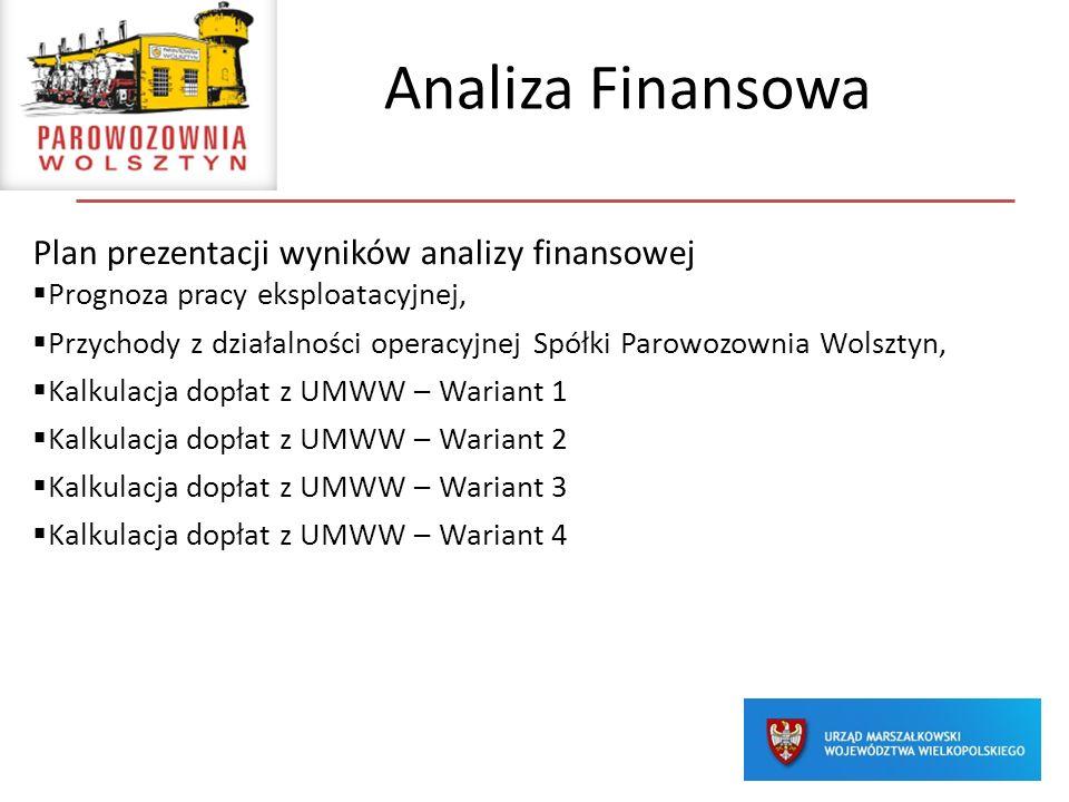 Analiza Finansowa Plan prezentacji wyników analizy finansowej