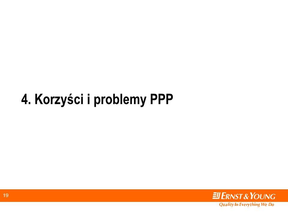 4. Korzyści i problemy PPP