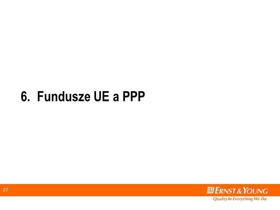 6. Fundusze UE a PPP