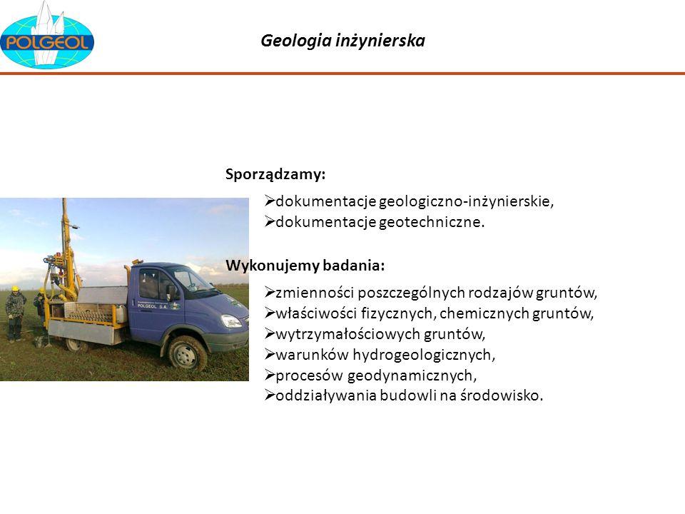 Geologia inżynierska Sporządzamy: