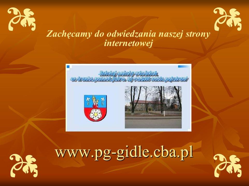Zachęcamy do odwiedzania naszej strony internetowej