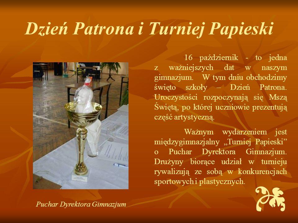 Dzień Patrona i Turniej Papieski