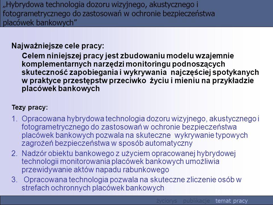 """""""Hybrydowa technologia dozoru wizyjnego, akustycznego i"""