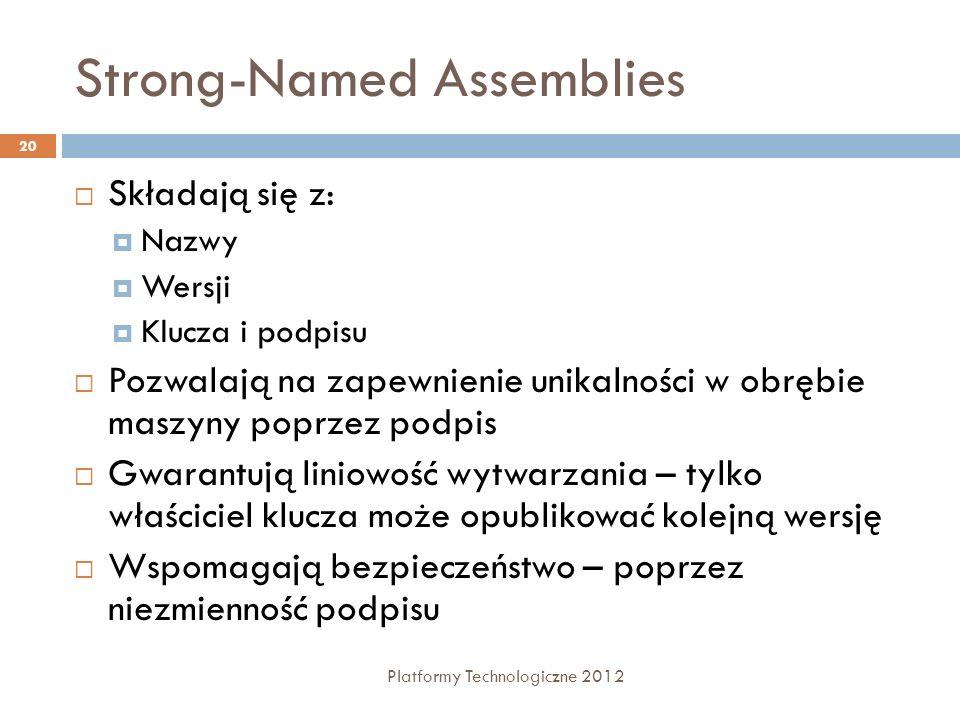 Strong-Named Assemblies