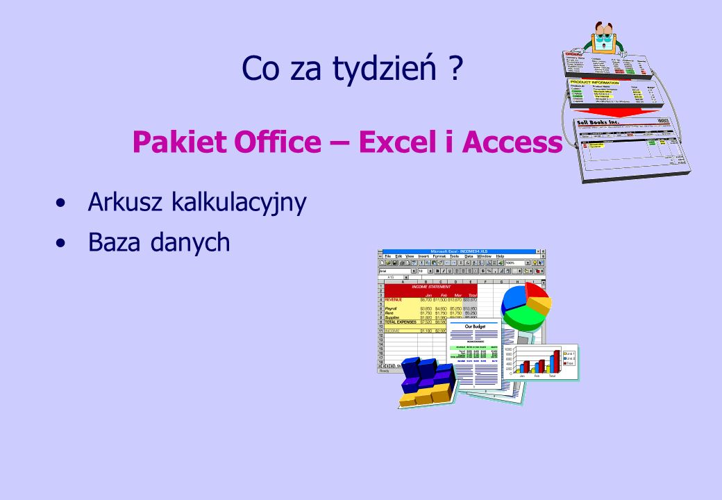 Pakiet Office – Excel i Access