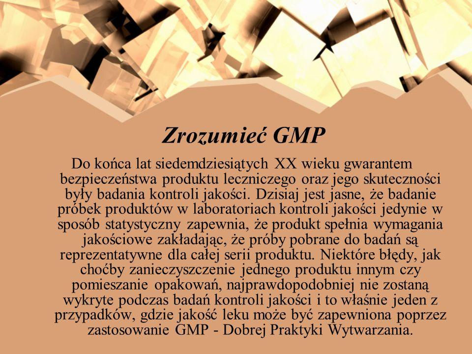 Zrozumieć GMP