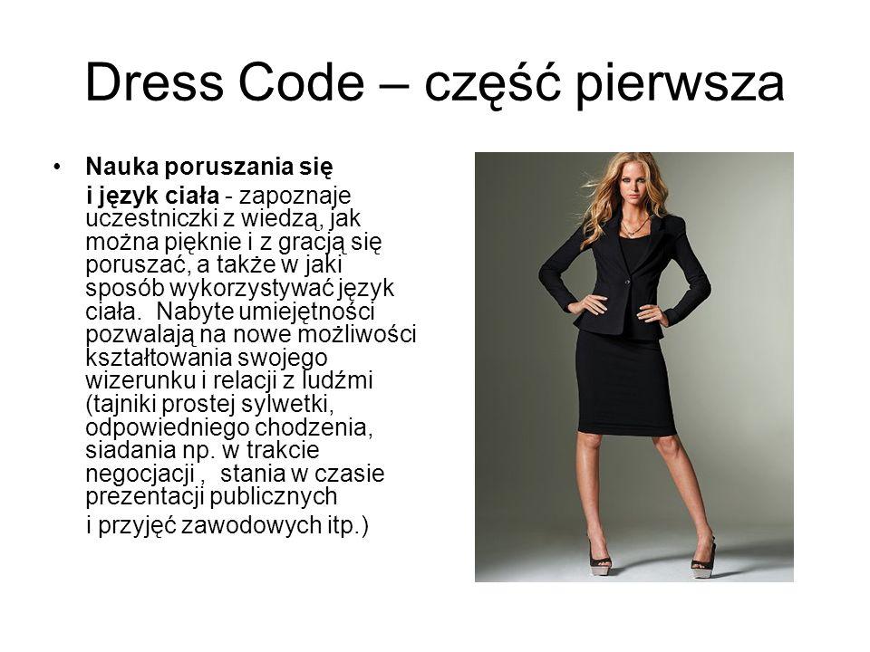Dress Code – część pierwsza