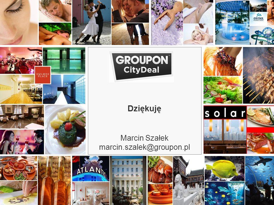 22.03.10 Dziękuję Marcin Szałek marcin.szalek@groupon.pl 18