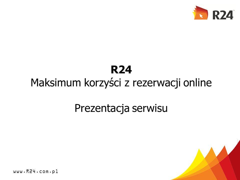 R24 Maksimum korzyści z rezerwacji online