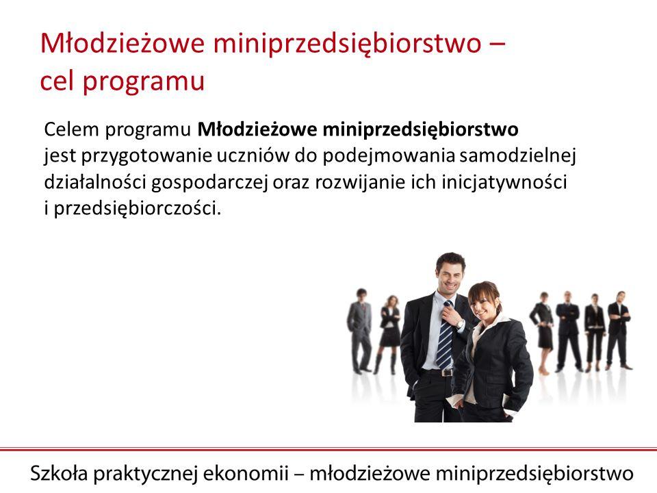 Młodzieżowe miniprzedsiębiorstwo – cel programu