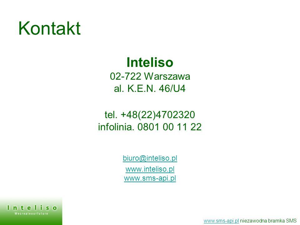 Kontakt Inteliso 02-722 Warszawa al. K.E.N. 46/U4