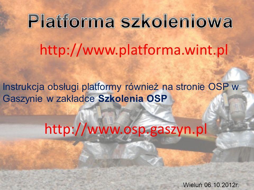 Platforma szkoleniowa