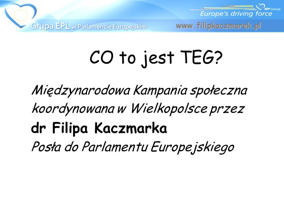 CO to jest TEG dr Filipa Kaczmarka Międzynarodowa Kampania społeczna