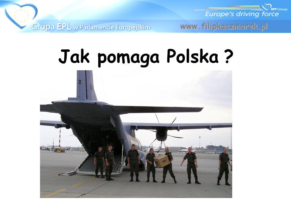 www.filipkaczmarek.pl Jak pomaga Polska