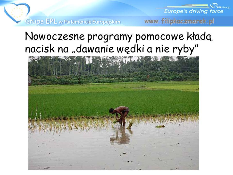 """www.filipkaczmarek.pl Nowoczesne programy pomocowe kładą nacisk na """"dawanie wędki a nie ryby"""