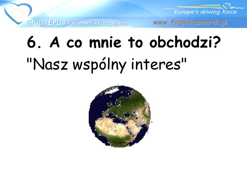 www.filipkaczmarek.pl 6. A co mnie to obchodzi Nasz wspólny interes
