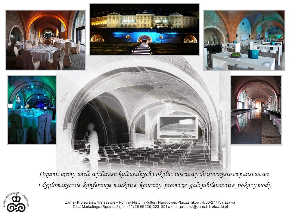 Organizujemy wiele wydarzeń kulturalnych i okolicznościowych: uroczystości państwowe