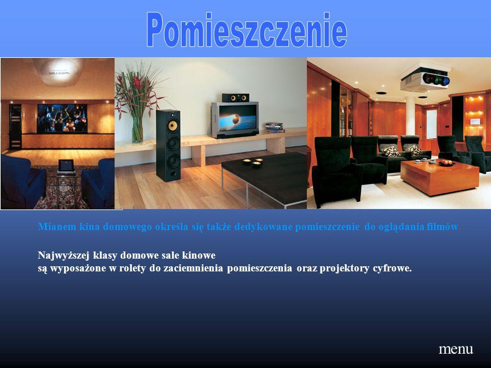 Pomieszczenie Mianem kina domowego określa się także dedykowane pomieszczenie do oglądania filmów, Najwyższej klasy domowe sale kinowe.