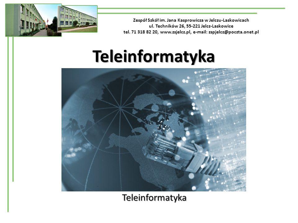 Teleinformatyka Telekomunikacja Teleinformatyka Informatyka