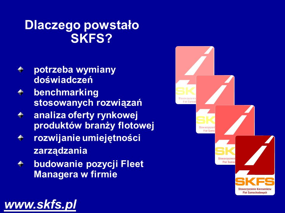 Dlaczego powstało SKFS