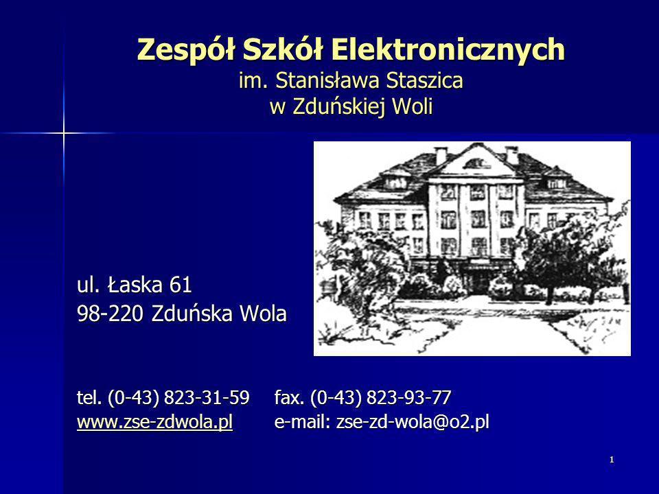 Zespół Szkół Elektronicznych im. Stanisława Staszica w Zduńskiej Woli