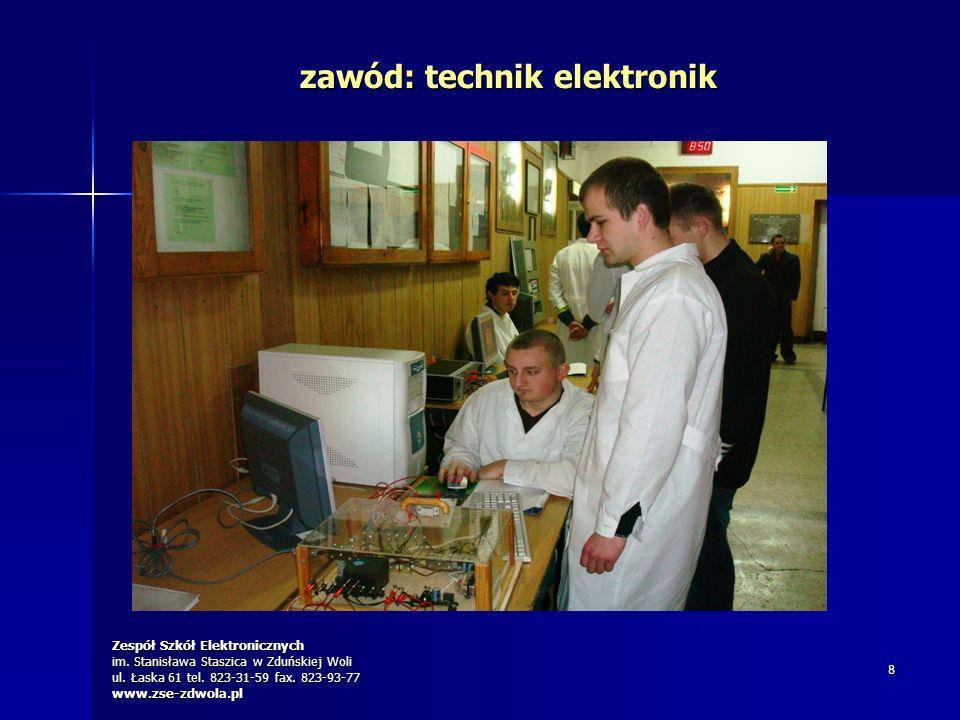 zawód: technik elektronik
