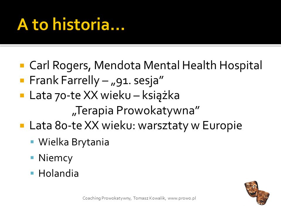 A to historia… Carl Rogers, Mendota Mental Health Hospital
