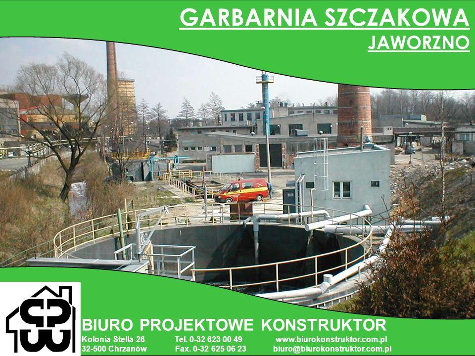 GARBARNIA SZCZAKOWA JAWORZNO BIURO PROJEKTOWE KONSTRUKTOR