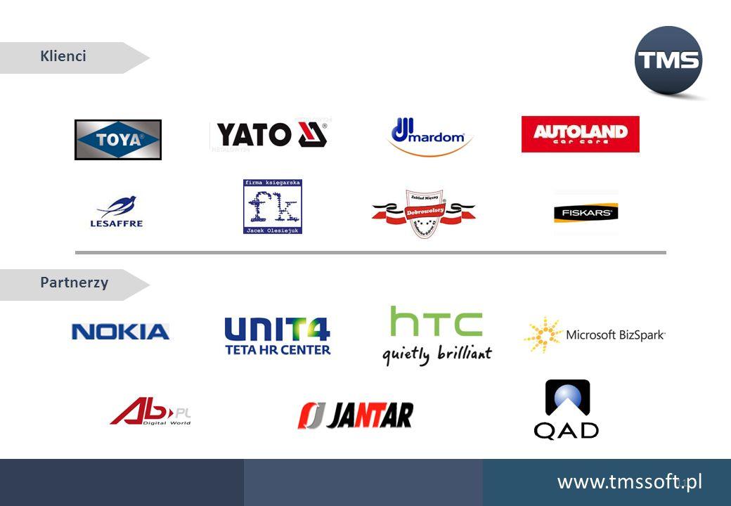 Klienci Partnerzy www.tmssoft.pl