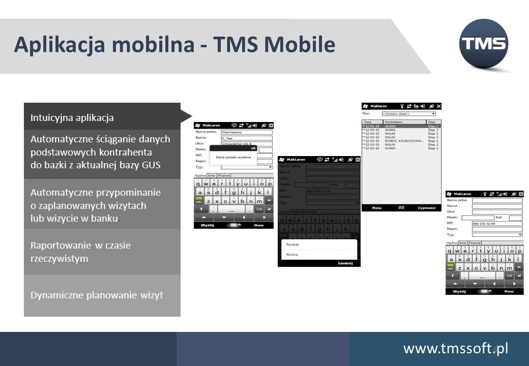 Aplikacja mobilna - TMS Mobile