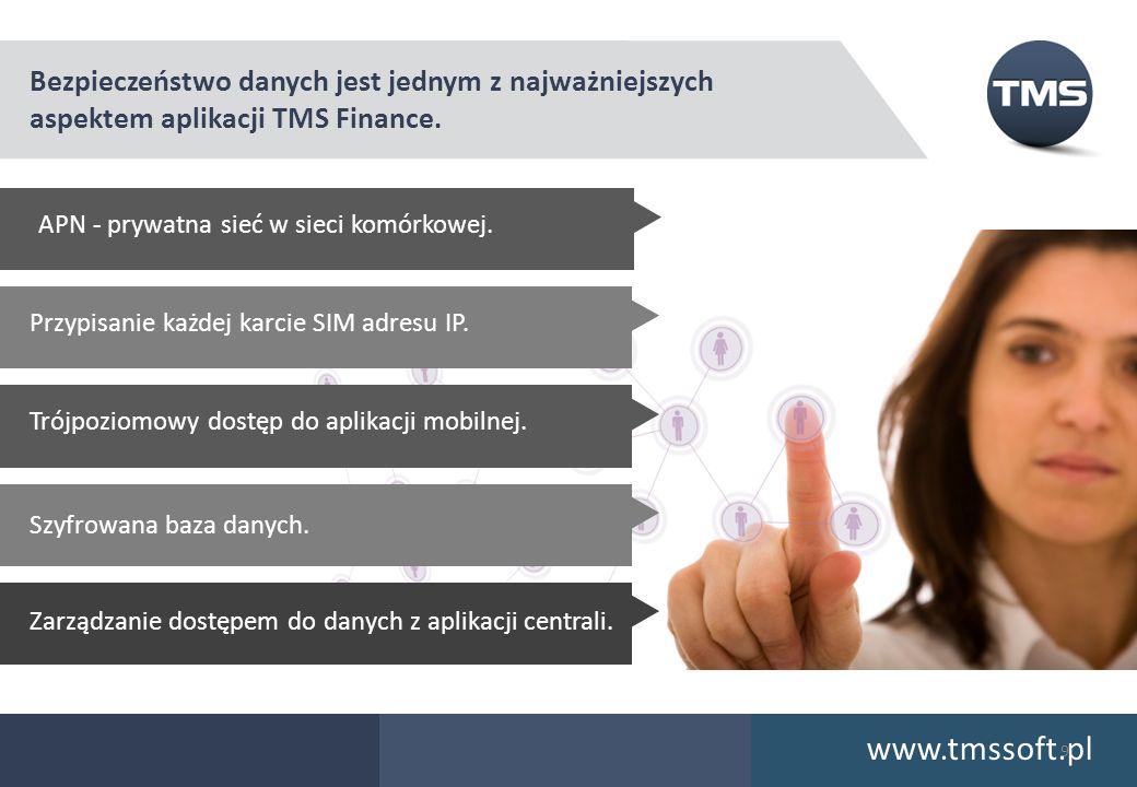 www.tmssoft.pl Bezpieczeństwo danych jest jednym z najważniejszych