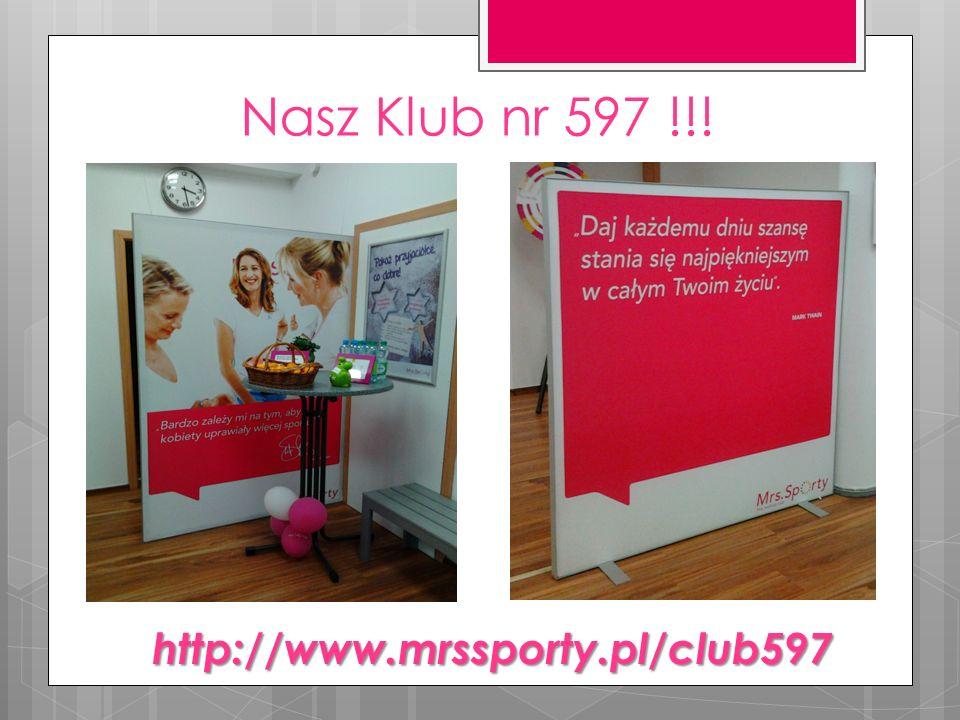Nasz Klub nr 597 !!! http://www.mrssporty.pl/club597