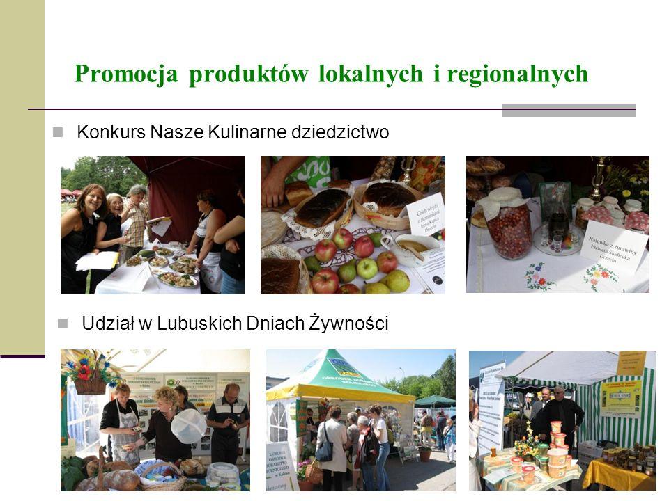 Promocja produktów lokalnych i regionalnych
