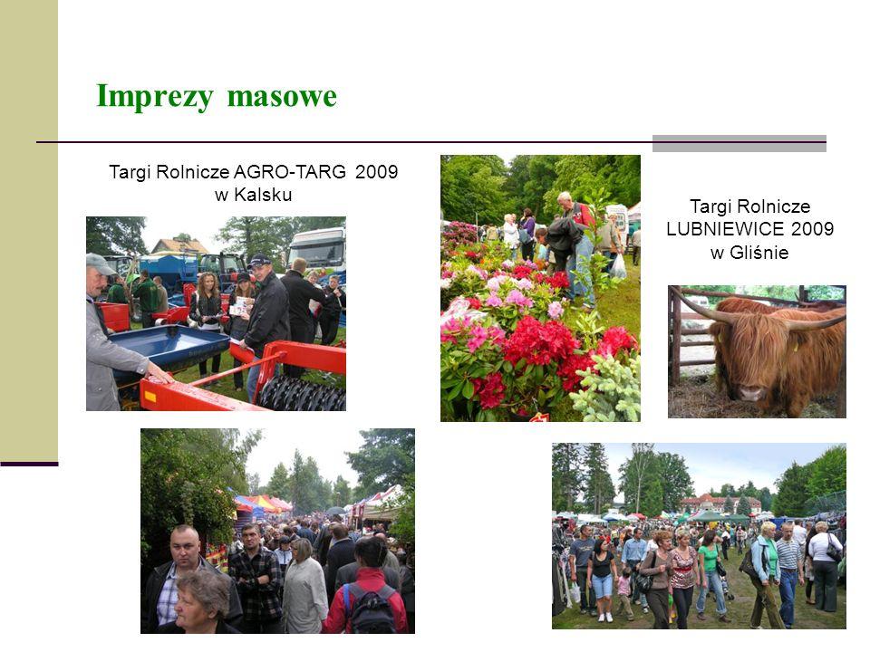 Imprezy masowe Targi Rolnicze AGRO-TARG 2009 w Kalsku