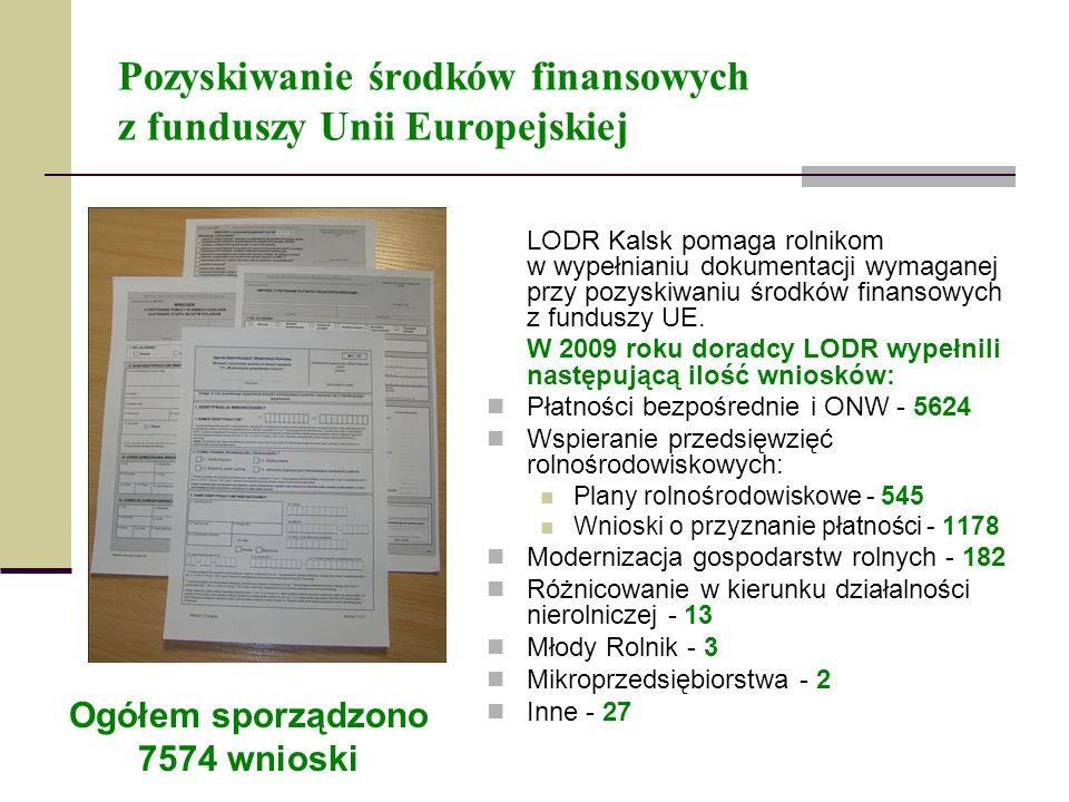 Pozyskiwanie środków finansowych z funduszy Unii Europejskiej