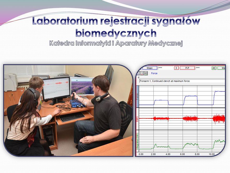 Laboratorium rejestracji sygnałów biomedycznych Katedra Informatyki i Aparatury Medycznej