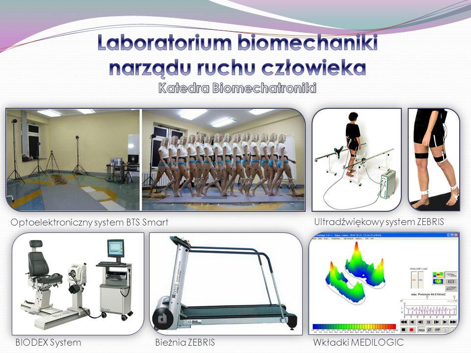Laboratorium biomechaniki narządu ruchu człowieka Katedra Biomechatroniki