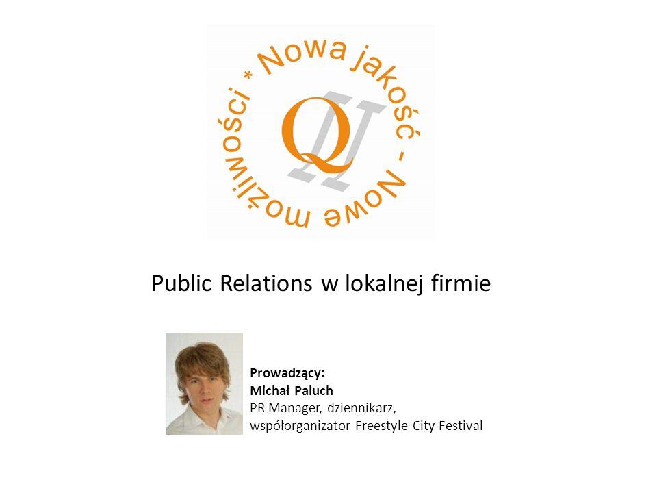 Public Relations w lokalnej firmie