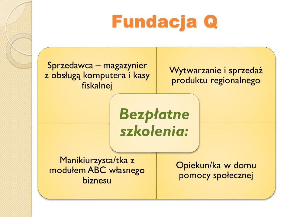 Fundacja Q Bezpłatne szkolenia: