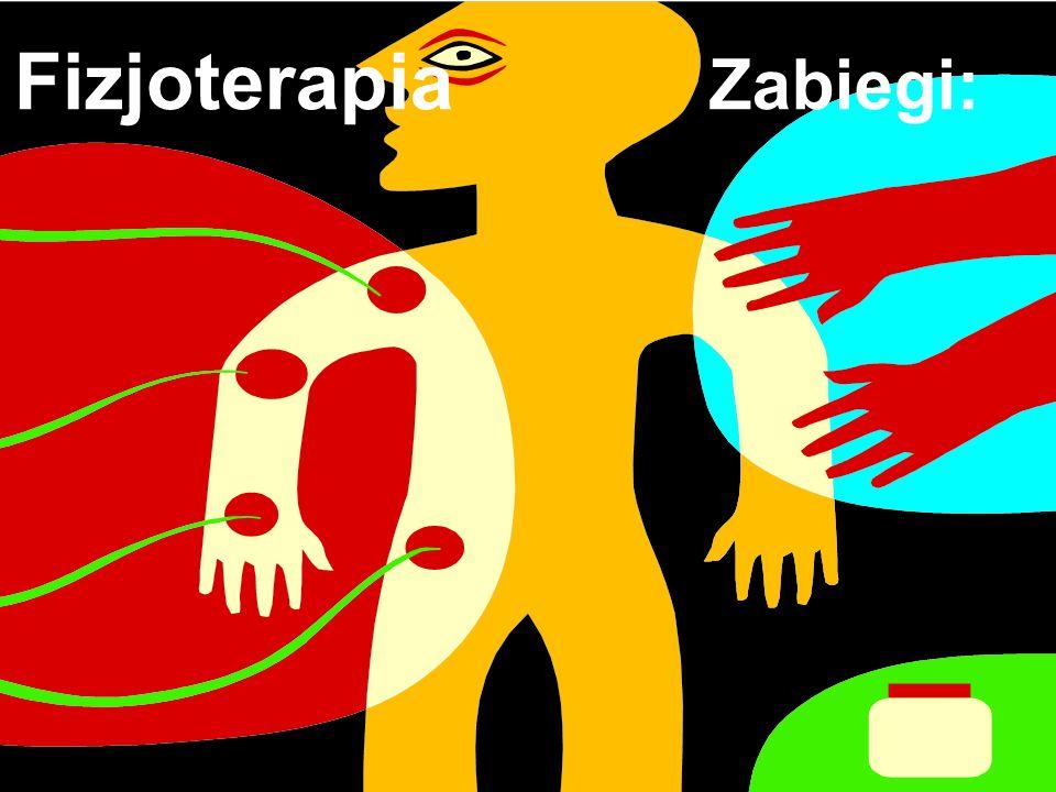 Fizjoterapia Zabiegi: