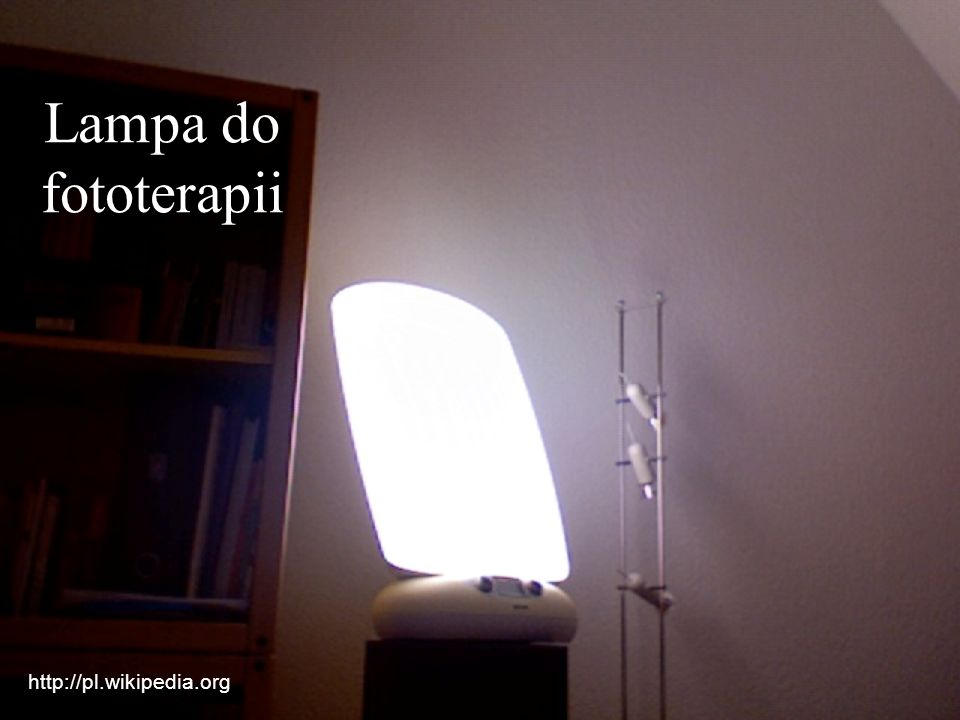 Lampa do fototerapii http://pl.wikipedia.org