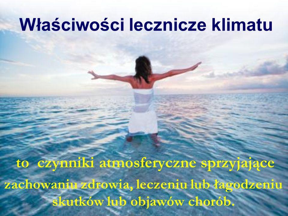 Właściwości lecznicze klimatu