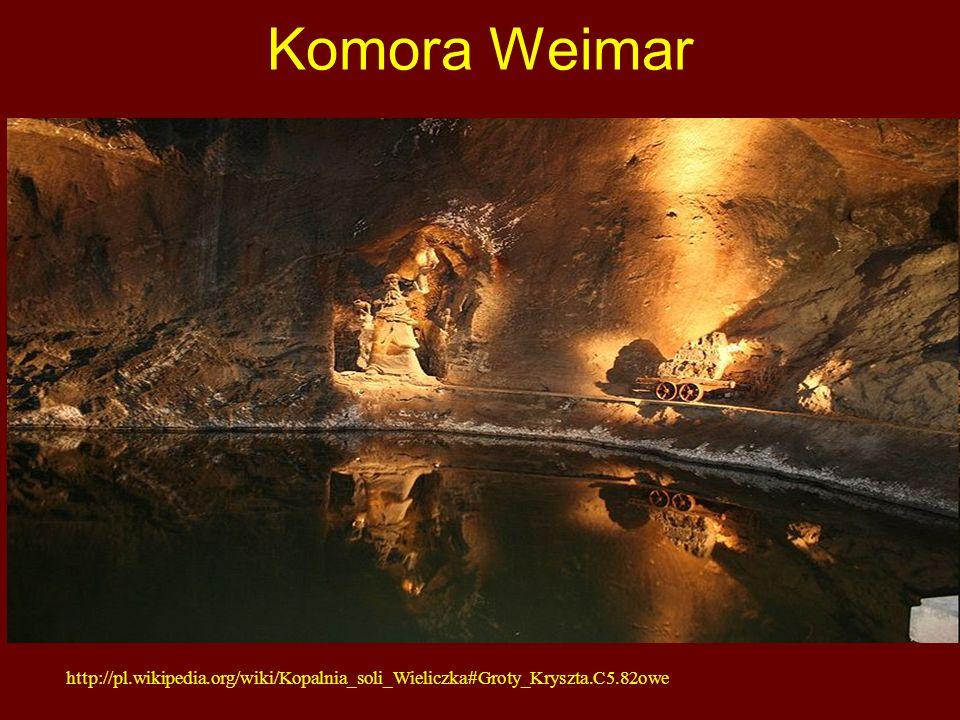 Komora Weimar http://pl.wikipedia.org/wiki/Kopalnia_soli_Wieliczka#Groty_Kryszta.C5.82owe