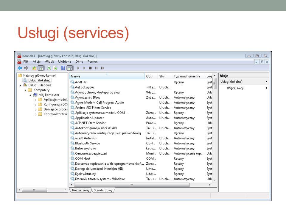 Usługi (services)