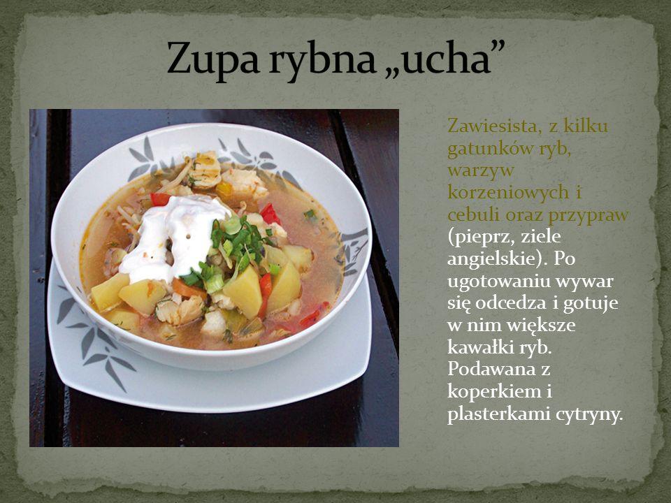 """Zupa rybna """"ucha"""