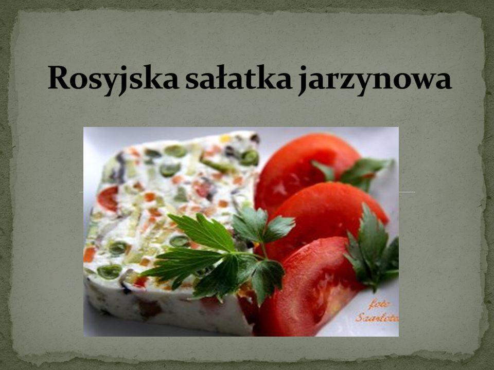 Rosyjska sałatka jarzynowa