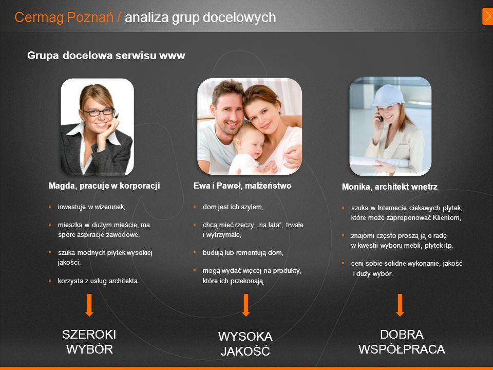 Cermag Poznań / analiza grup docelowych