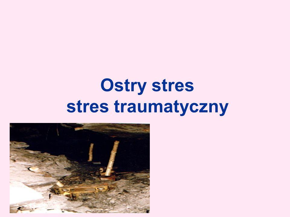 Ostry stres stres traumatyczny